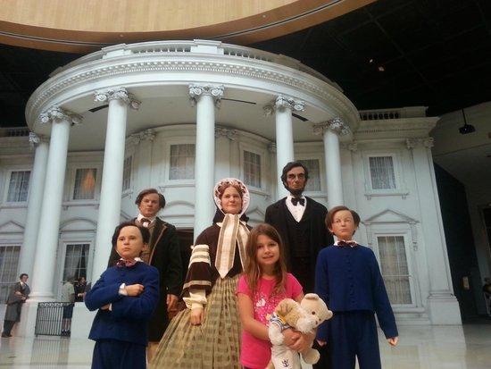 Abraham Lincoln Presidential Library and Museum: Hot spot obrigatório, dentro do museu.