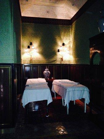 Riad Lotus Ambre: La salle de massage
