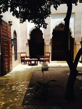 Riad Lotus Ambre: Le patio