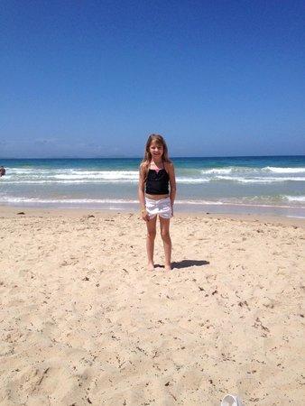 Isla Caribe Beach Hotel : Playa frente al hotel