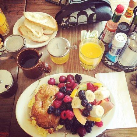 Hollywood Cafe: En diger amerikansk frokost!