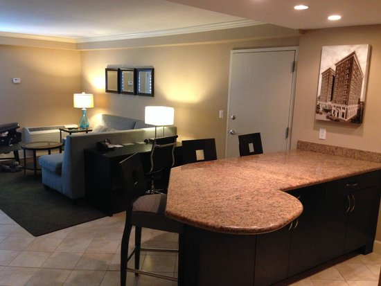 Crowne Plaza Orlando Downtown: Spacious King Suite