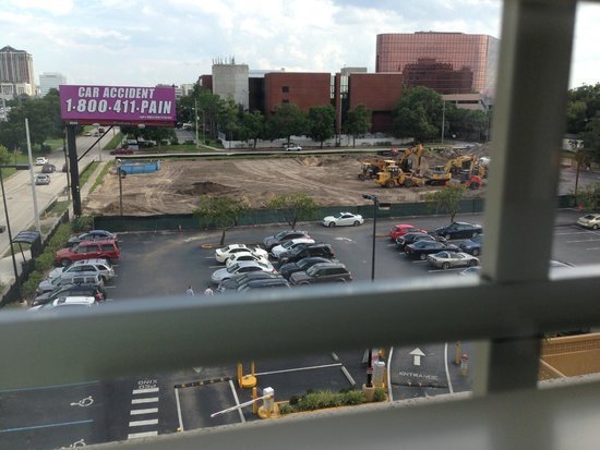 Crowne Plaza Orlando Downtown: King Suite View at 5th Floor Towards Construction
