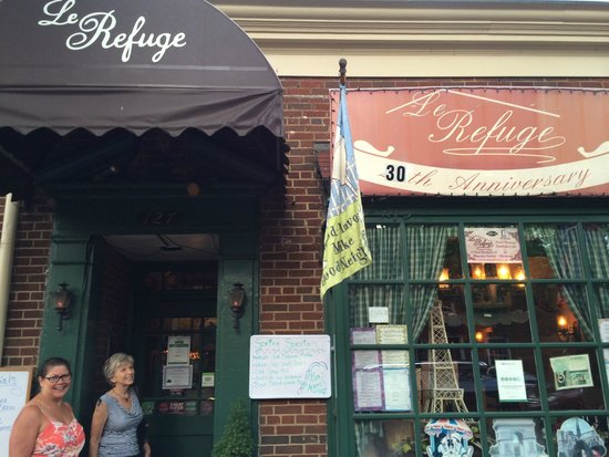 Le Refuge Restaurant: This is the Front