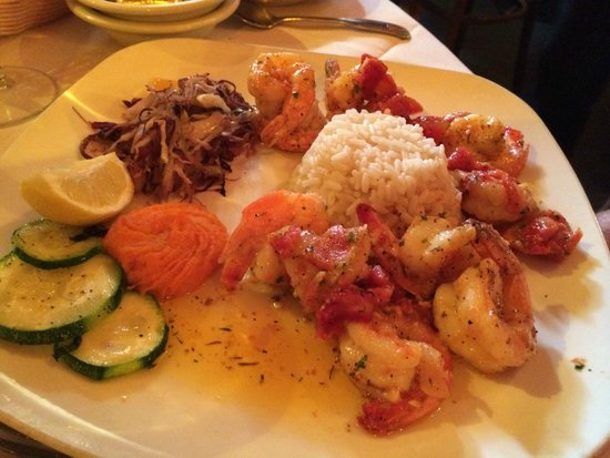 Le Refuge Restaurant: Shrimp