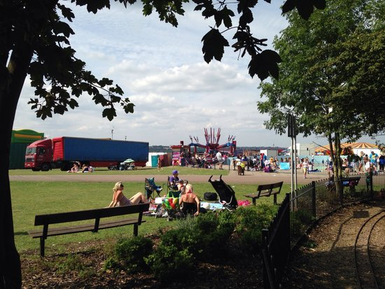 Rivers edge picture of the strand leisure park - The strand swimming pool gillingham ...