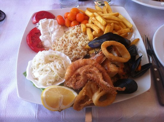 Carrusel Restaurant: Polipo , calamari , gamberoni e molto altro