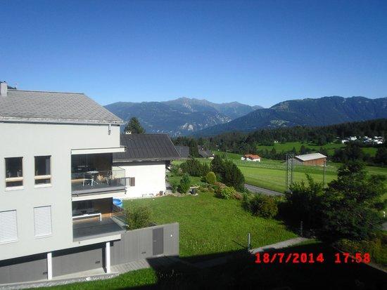 Alpenhotel: Zimmeraussicht