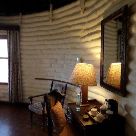 Sarova Salt Lick Game Lodge: Round room