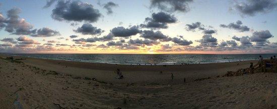 Barrio del Mar: Vue sur la plage d'Ondres