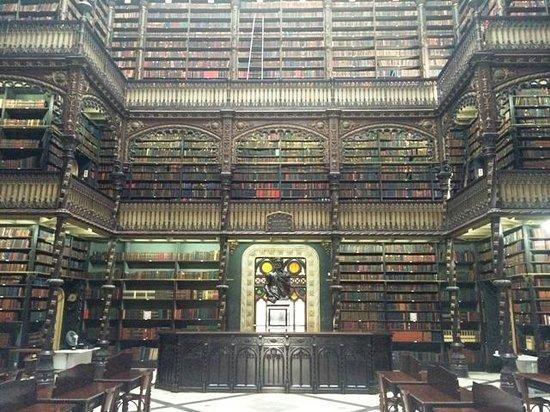 Real Gabinete Portugues Da Leitura : Foto do interior