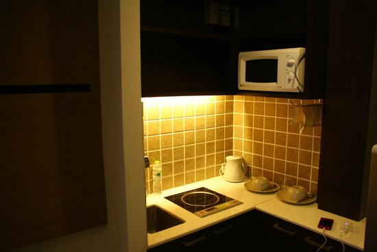 Vacio Suite: 四人房型裡面有小廚房