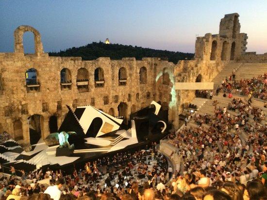 Herod Atticus Odeon : Ópera Othello