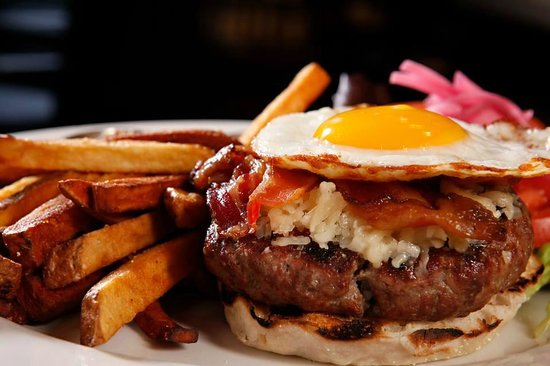 Hinkley's: House Burger and Root Fries