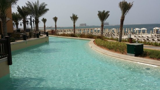 Rixos Bab Al Bahr : Water around the hotel