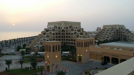 Rixos Bab Al Bahr : View from the balcony