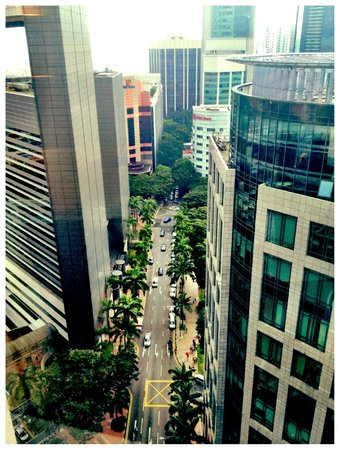 M Hotel Singapore: what I saw out my window from the 23rd floor