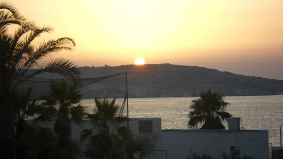 db San Antonio Hotel + Spa: sunset fro mthe bar balcony
