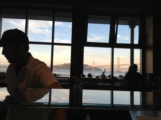 Hog Island Oyster Company: View from inside