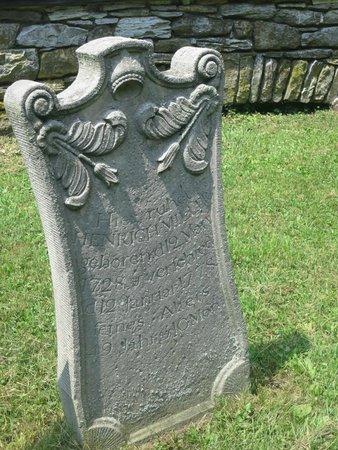 Gravestone in Ephrata Cloister cemetery