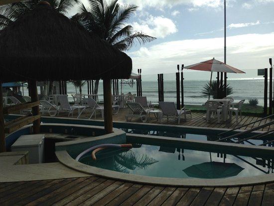 Elegance Ponta Negra Flat Beira Mar: Visto para o mar