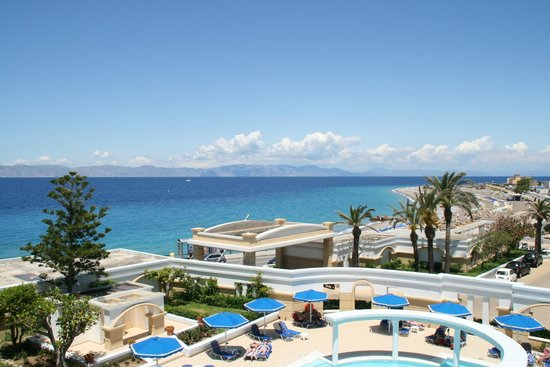 Mitsis Grand Hotel : Havudsigt