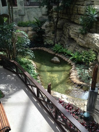 "Gaylord Texan Resort & Convention Center: The ""Riverwalk"" inside the hotel"