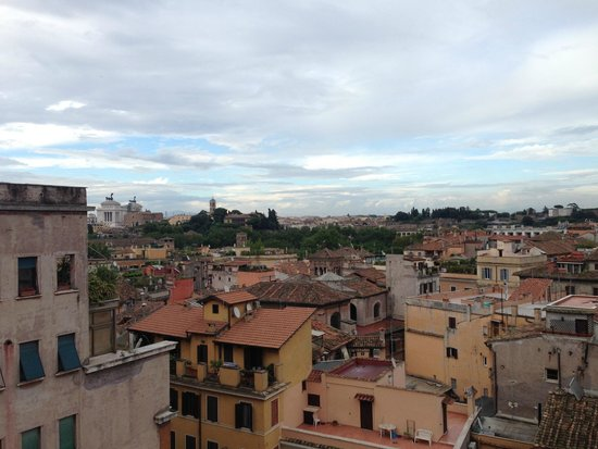 A Trastevere da M.E. : View from rooftop