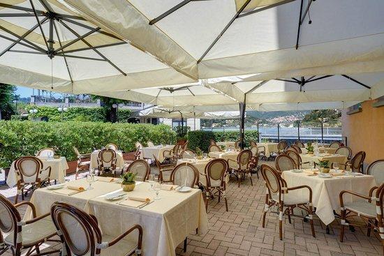 Palace Hotel: Summer terrace