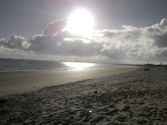 Pecem Beach: Sol escaldante.
