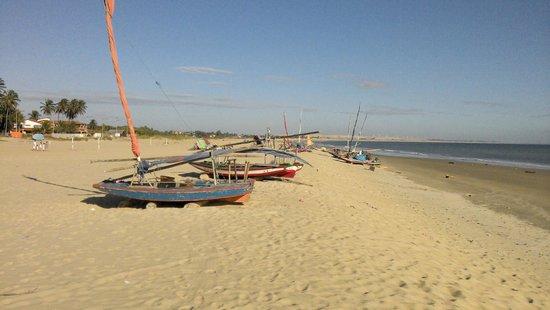 Pecem Beach: Vila de pescadores.