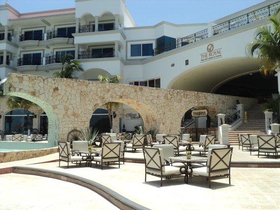 The Royal Playa del Carmen: terraza