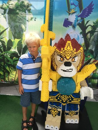 Legoland Billund: Junior med Chimahelten