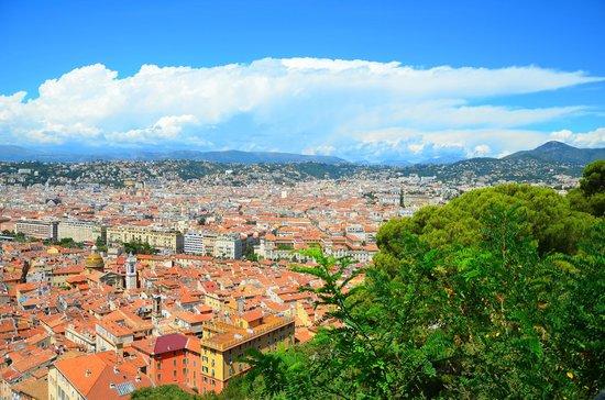 Trains touristiques de Nice : View of Nice