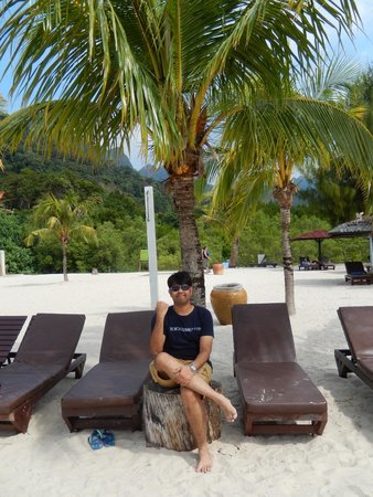 Berjaya Langkawi Resort - Malaysia: white sand and coconut palm beach-truly bliss.