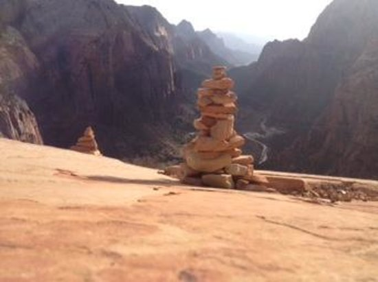 Angel's Landing: i made this i hope its still there