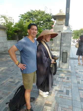 Travelience: Me and the monk