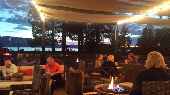 Jimmy's at The Landing Resort & Spa: Patio