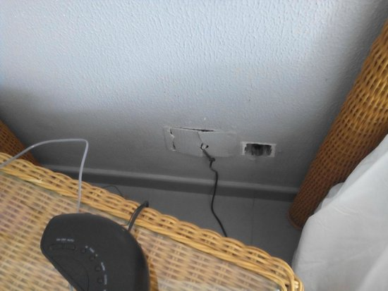 Hotel Riu Naiboa: Falta de mantenimiento
