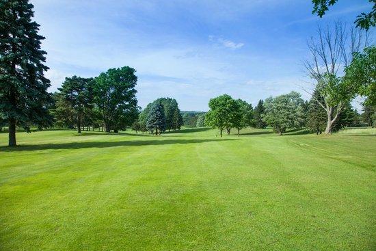 Evergreen Resort: Golf course view