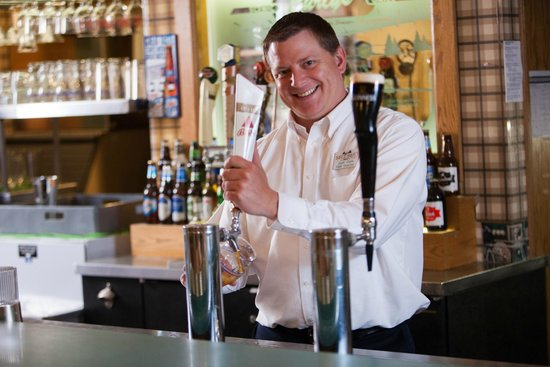 Evergreen Resort : Curly's Pub offers a variety of tapped and bottled beers and  liquors