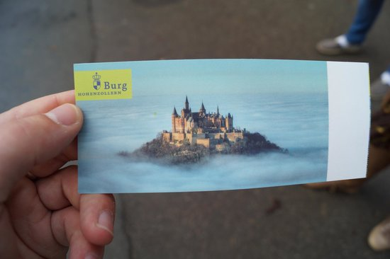 Burg Hohenzollern: Entrance and tour ticket