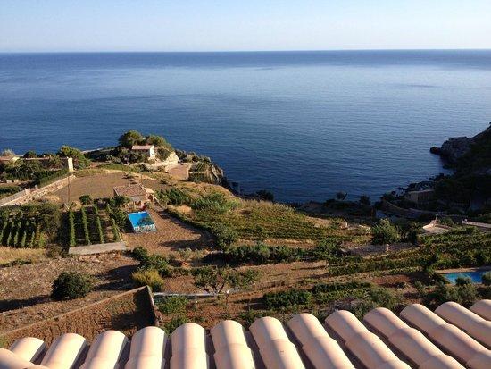 Hotel Mar i Vent: vue très partielle du point de vue de notre terrasse