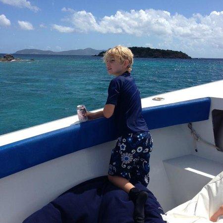 Virgin Islands Boat Rental: Open waters - heading to another destination