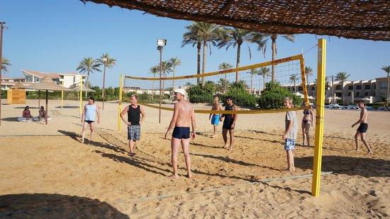Cleopatra Luxury Resort Makadi Bay: odpolední volejbal