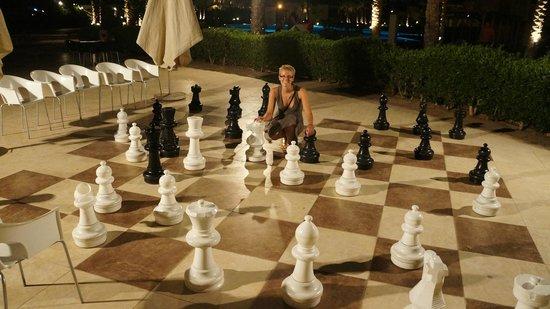 Cleopatra Makadi Bay: šachy