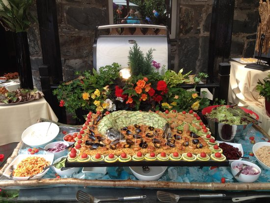 Bryn Artro Country House : Chefs dressed salmon amazing!