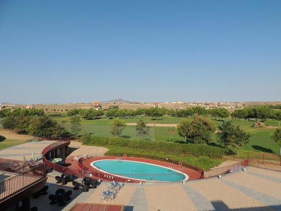 Hotel Layos Golf: vistas al campo de golf