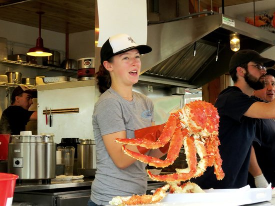 Tracy's King Crab Shack: Yummy yummy crab!