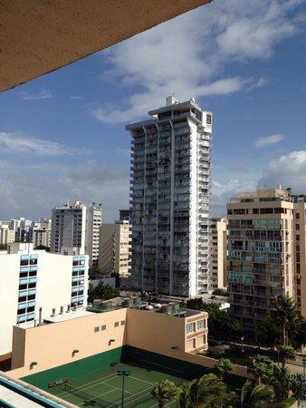 San Juan Marriott Resort & Stellaris Casino : Our view